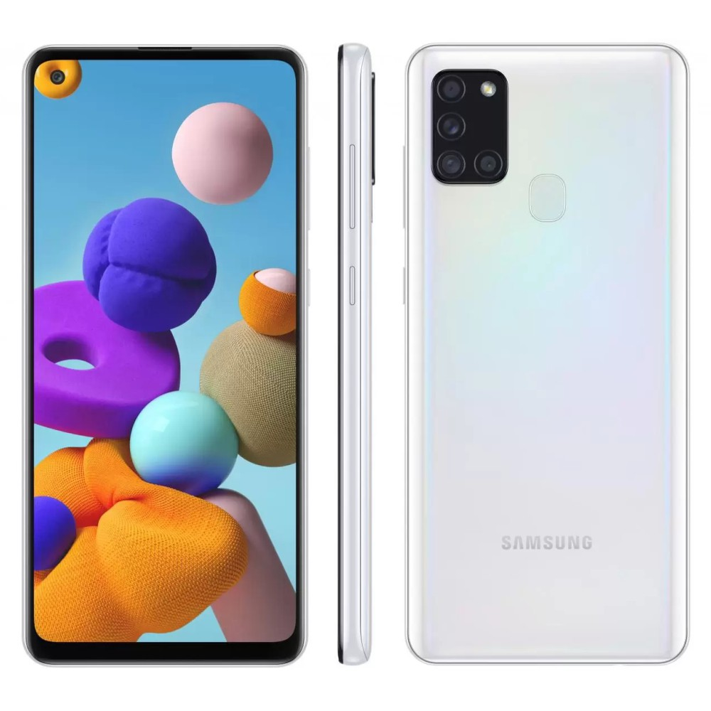 Galaxy A21s 64 GB - Branco