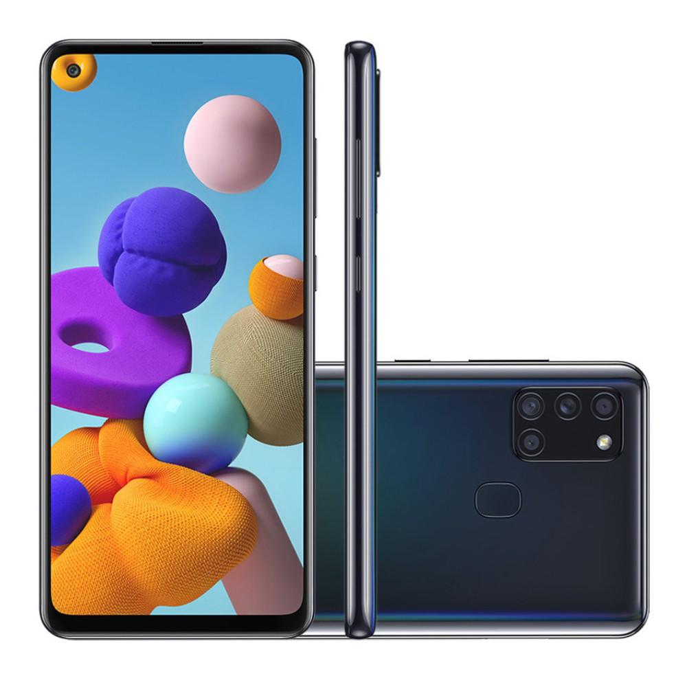 Galaxy A21s 64 GB - Preto