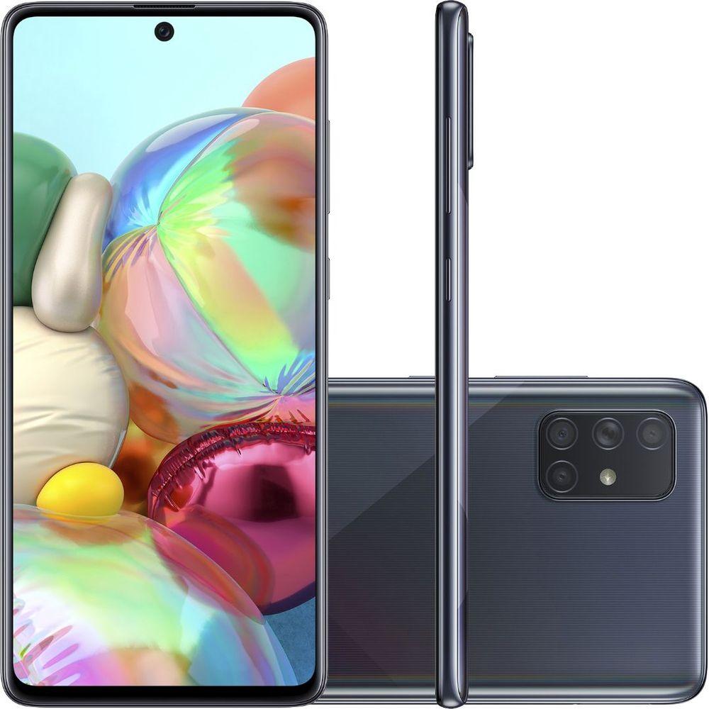 Galaxy A71 128 GB - Preto
