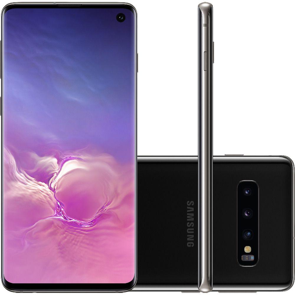 Galaxy S10 Plus 128 GB - Preto