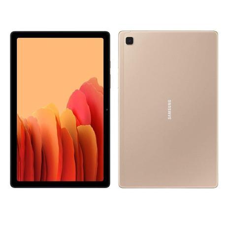 Tablet Samsung Galaxy Tab A7 4G 64GB - Dourado, Tela 10.4