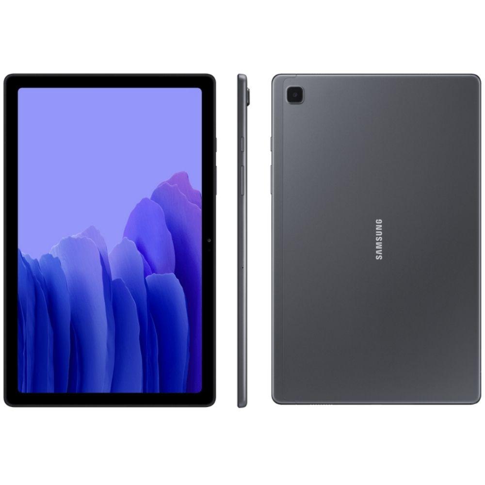 Tablet Samsung Galaxy Tab A7 Wi-Fi 64GB - Grafite, Tela 10.4