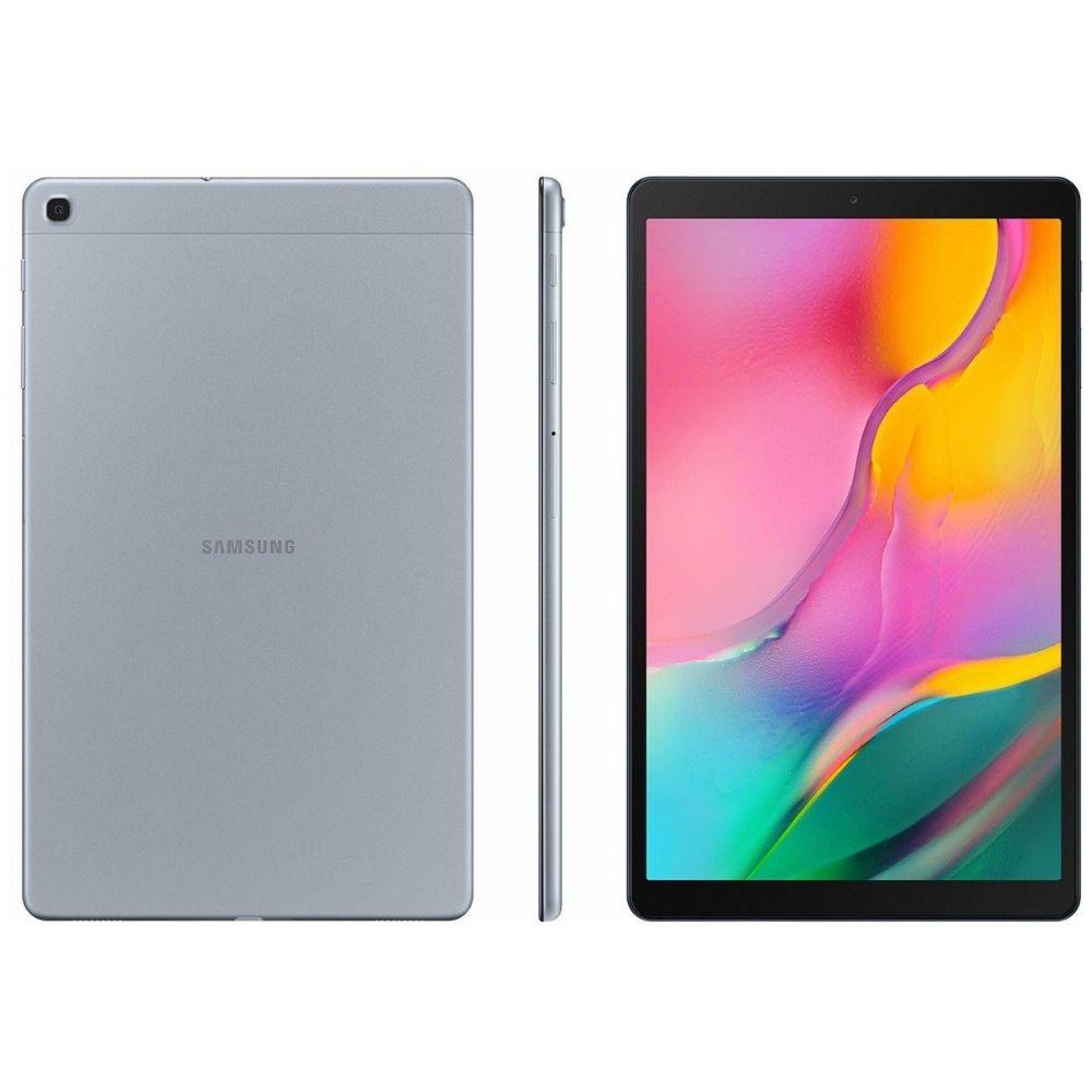 Tablet Samsung Galaxy TAB A 10.1 32GB - 4G, Prata, Processador Octa Core, Tela 10.1