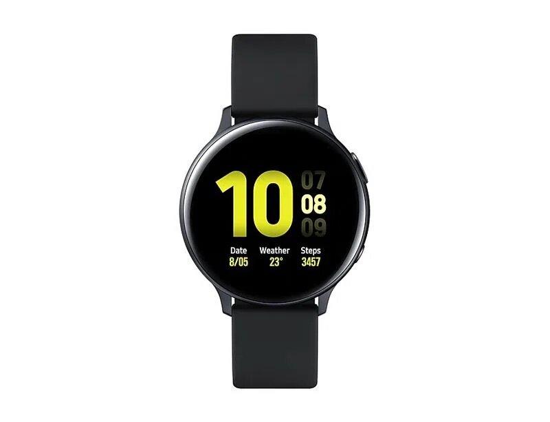 Smartwatch Samsung Galaxy Watch Active2 44mm - Preto (Alumínio) Nacional - Bluetooth