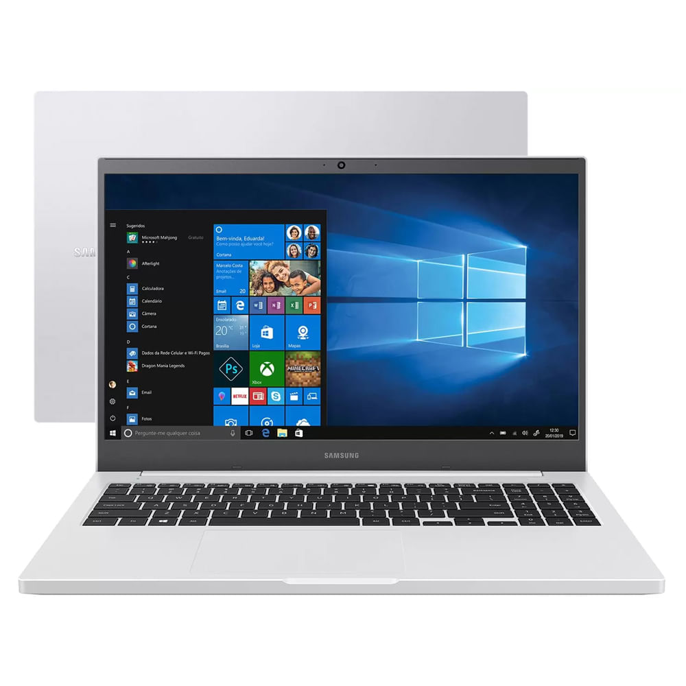 Notebook Samsung Book Intel Core I5 1135G7 - Iris® Xe, Windows 10 Home 1TB HD, 8GB RAM , Tela
