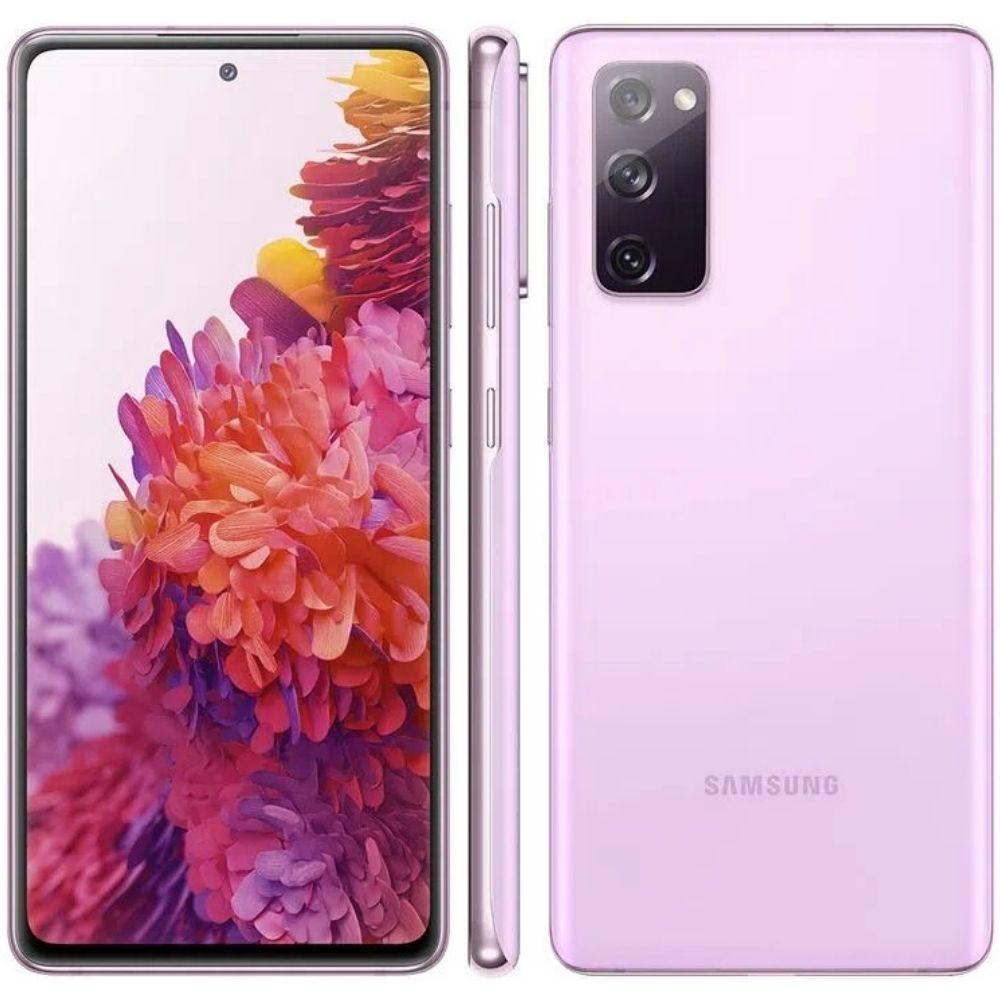 Smartphone Samsung Galaxy S20 FE 128GB - Lavanda  (Cloud Lavander), 4G, Câmera Frontal 32MP, RAM 6GB, Tela 6.5