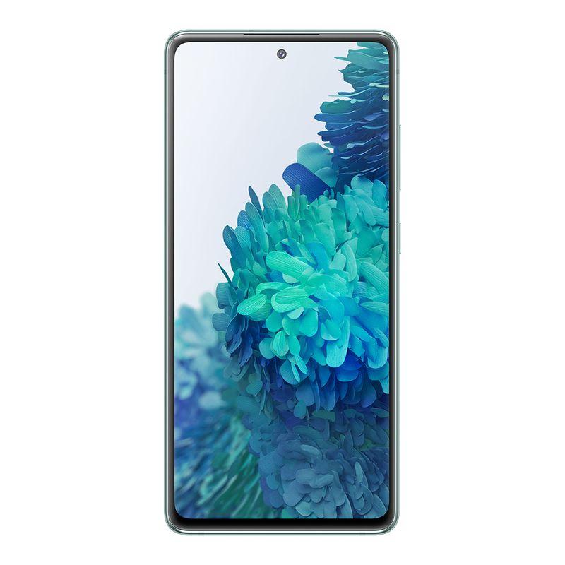 Smartphone Samsung Galaxy S20 FE 256GB - Verde, Processador Qualcomm Snapdragon 865 - 2.8GHz, 4G, Câmera Frontal 32MP, RAM 8GB (SM-G780G)