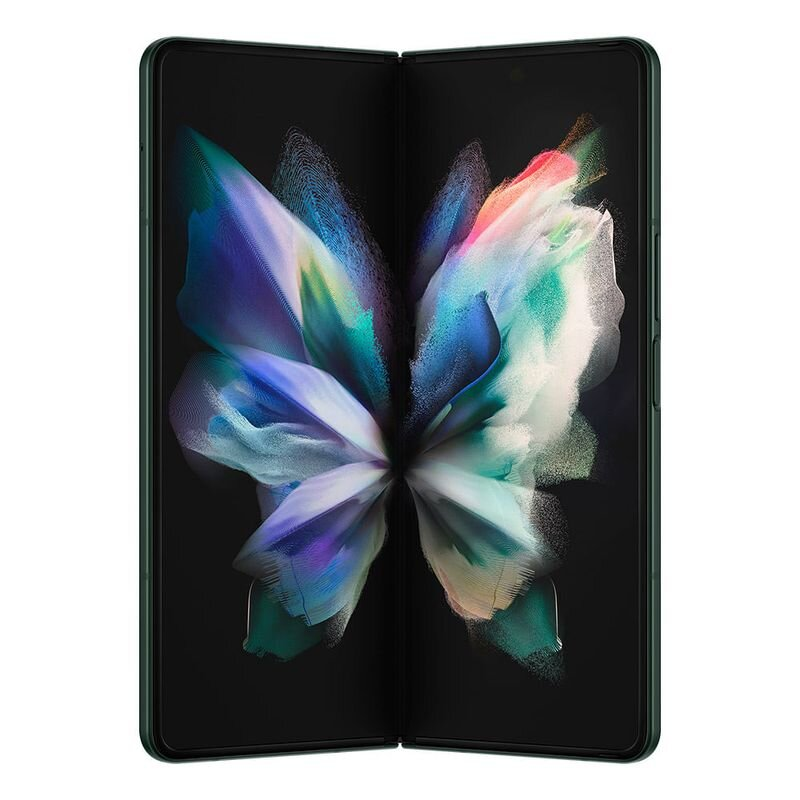 Smartphone Samsung Galaxy Z Fold3 512GB 5G - Verde, RAM 12GB, Tela 7.6