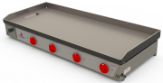 Chapa Bifeteira Gás 1,60m inox Progás  PR-1600G