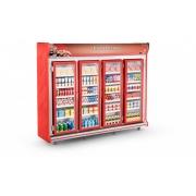 Expositor Frios e Laticínios 4 Portas Refrimate - ASFL2500