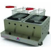 Fritadeira Industrial 2 Cestos 10 Litros Gás - Progás PR20G