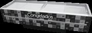 CONSERVADOR 1163L VIDRO RETO ILHA - PRETO