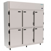 Mini Câmara Fria Industrial 6 Portas Kofisa - KMCP129