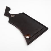 Tábua Colt Black para Churrasco 50x20 Madeira Nobre Artesana Sheriff Steak - T-020