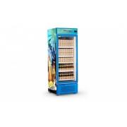 Visa Cooler 600 Litros Porta de Vidro