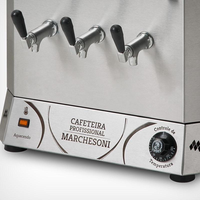 Cafeteira Profissional 2 Reservatórios 8 Litros Cada Marchesoni - CF4821
