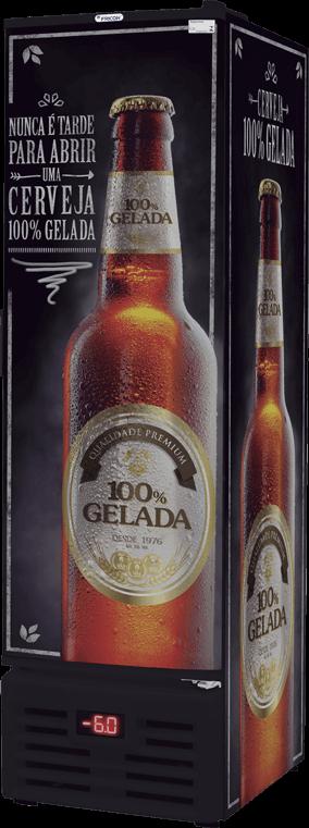 Cervejeira Porta Cega Fricon 284 Litros Vcfc-284