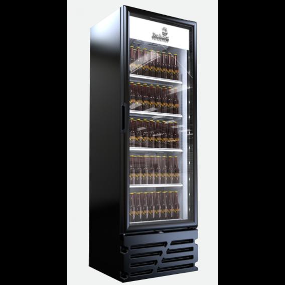 Cervejeira Porta de Vidro 454L Preto Fosco CCV315Pv