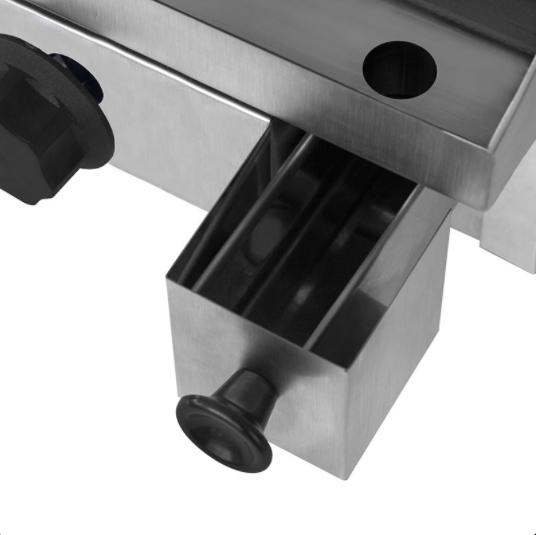 Chapa a Gás 40cm Baixa Pressão 1 Queimador | Kenok