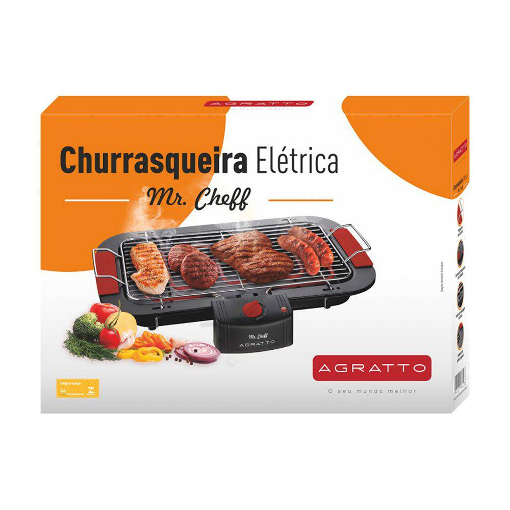 Churrasqueira Elétrica Agratto Mr. Cheff   CH-02