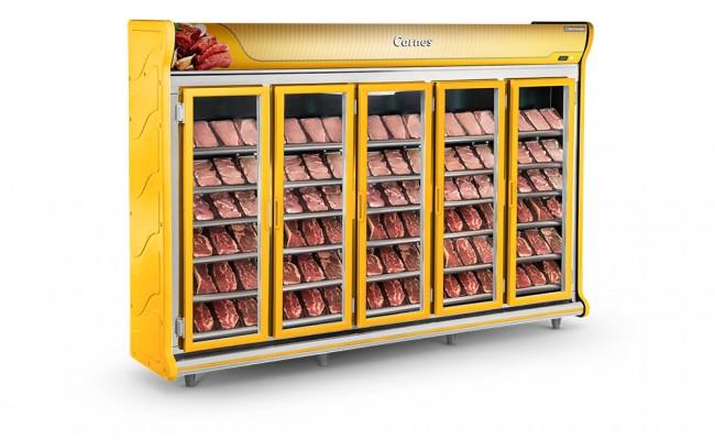 Expositor de Carnes 5 Portas Refrimate - ASC3000