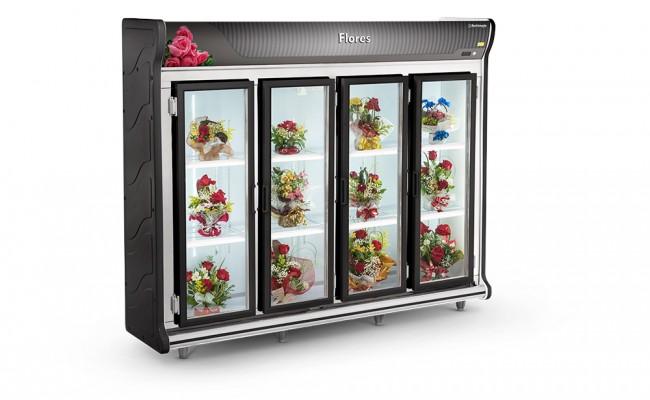 Expositor de Flores 4 Portas Refrimate - ASF2500