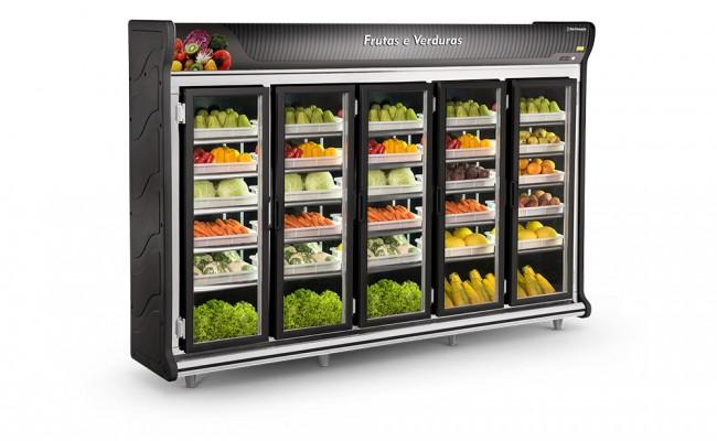 Expositor Frutas e Verduras 5 Portas Refrimate - ASFV3000]