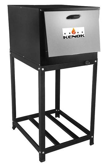 Forno Pequeno Kenok Baixa Pressão 54L Com Cavalete Tampa Inox -  FC54B.907