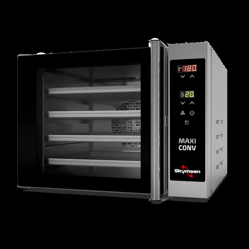 FORNO TURBO ELÉTRICO COMPACTO COM VAPOR COM 4 ASSADEIRAS 220V-M 3000W