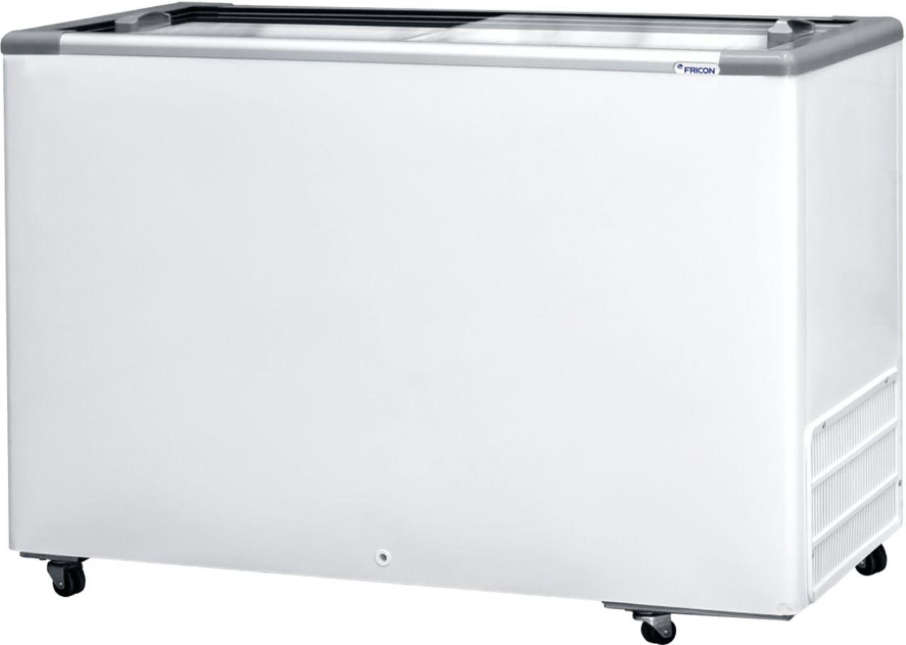 Freezer Horizontal Fricon 411Litros Dupla Ação - Tampa de Vidro