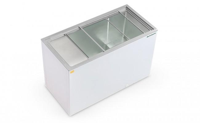 Freezer Horizontal 420 Litros Tampa de Vidro Refrimate - FHR420V