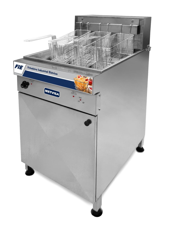 Fritadeira Industrial Elétrica 44L - Metvisa