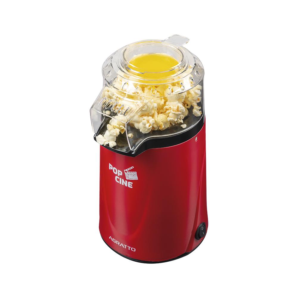Pipoqueira Elétrica Pop Cine Vermelha C/ Dosador Agratto - PP02