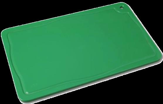 Placa de Polietileno Verde 1,5X30X40