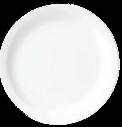 Prato Sobremesa 20cm Branco
