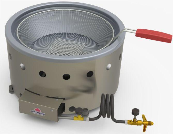 Fritadeira Industrial 7 Litros PR70G | Progás