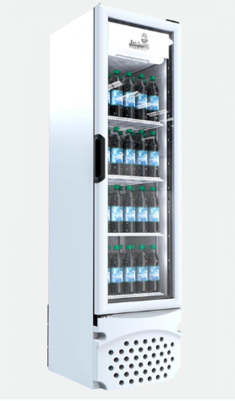 Visa Cooler Imbera 230L Porta De Vidro Branco