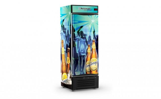 Visa Cooler 600 Litros Porta Sólida
