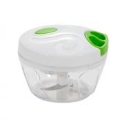 Mini Processador de Alimentos com Dispenser - Verde Água
