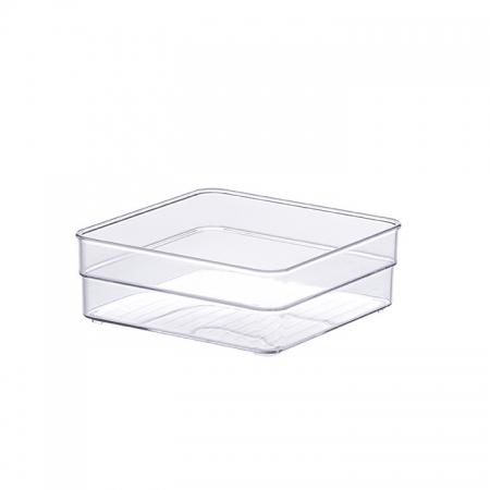 Organizador Diamond Cristal 15x15x5,2 Cm