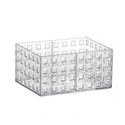 Organizador Empilhável Quadratta 16x11,5x8 Cm Cristal