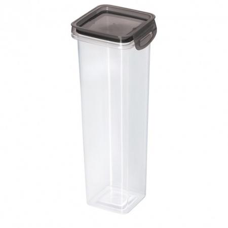 Porta Mantimento Trava Mais Quadrado Cristal - 1,6 L