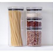 Pote Hermético Lumini Redondo Kit com 4 Peças