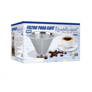 Filtro para Café Reutilizável em Aço Inox Tamanho P