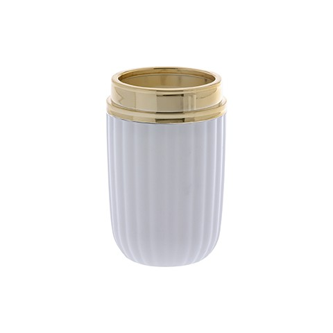 Kit Banheiro Branco Canelatta 2 Peças