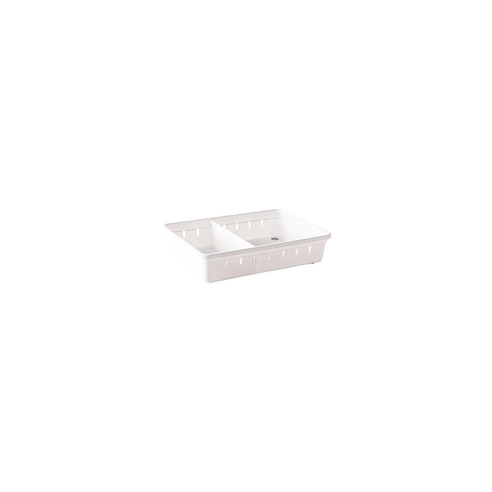 Kit Organizador de Gaveta 15,4x22,5x5 Cm + Divisória