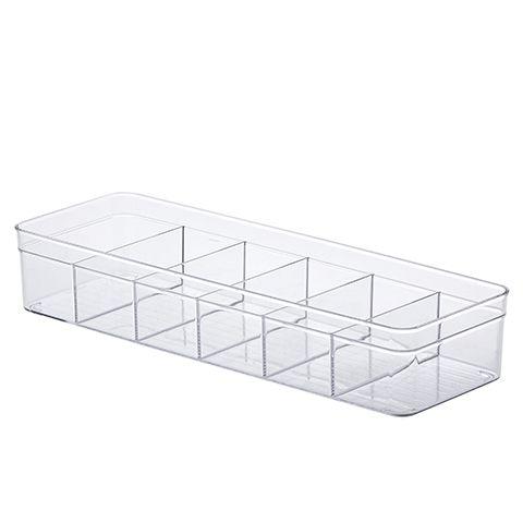 Organizador Diamond c/ Divisórias  40,5x13,5x7,5 Cm
