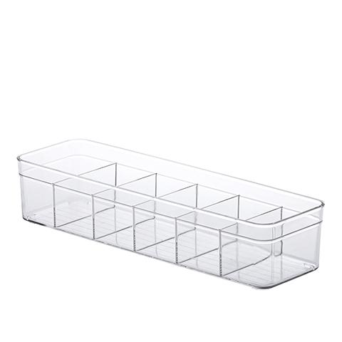 Organizador Diamond c/ Divisórias 35,5x10,5x7,5 Cm