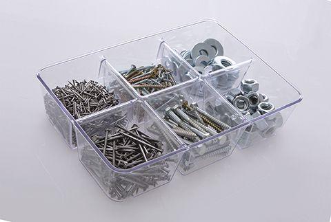 Organizador Diamond c/ Divisórias Cristal