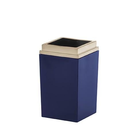 Porta Escova Azul Marinho Quadratta